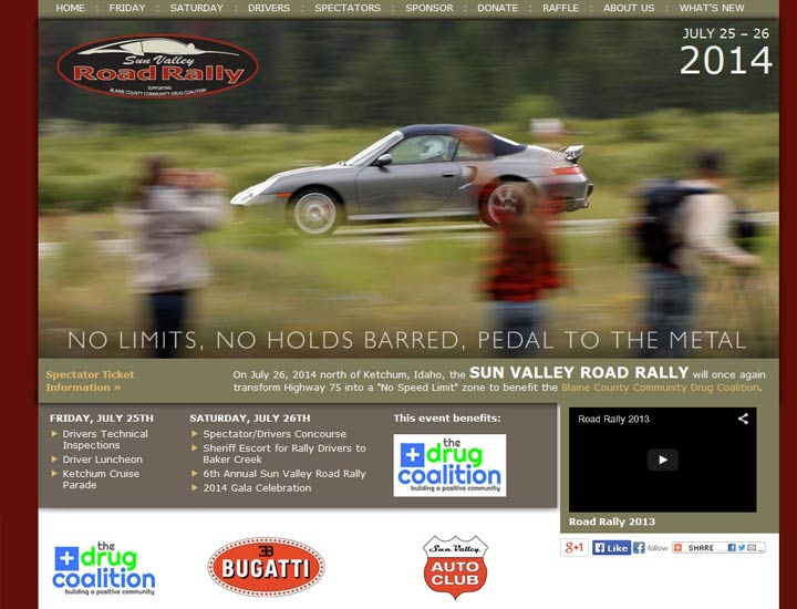 Sun Valley Road Rally